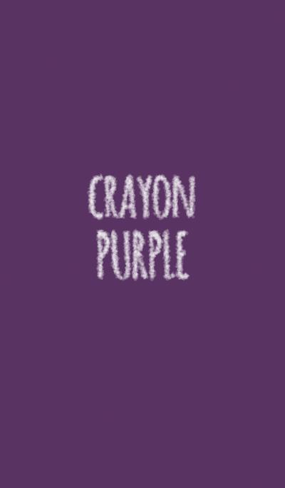 Crayon purple 5 / circle