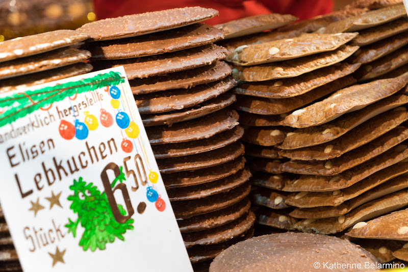 Elisenlebkuchen Gingerbread What to Eat and Drink at European Christmas Markets