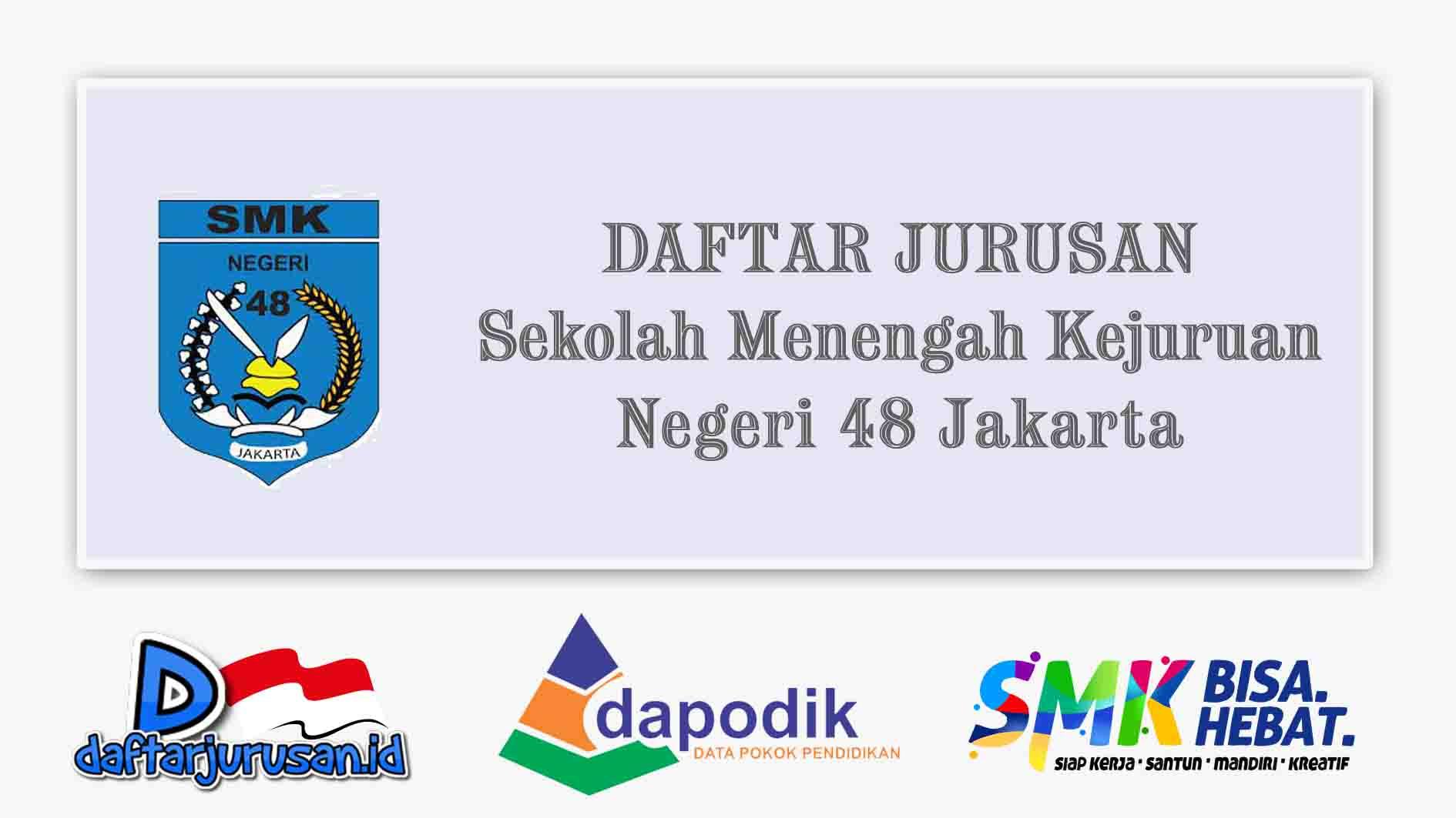 Daftar Jurusan SMK Negeri 48 Jakarta Timur