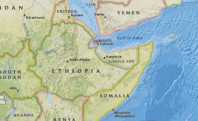 Peta Etiopia