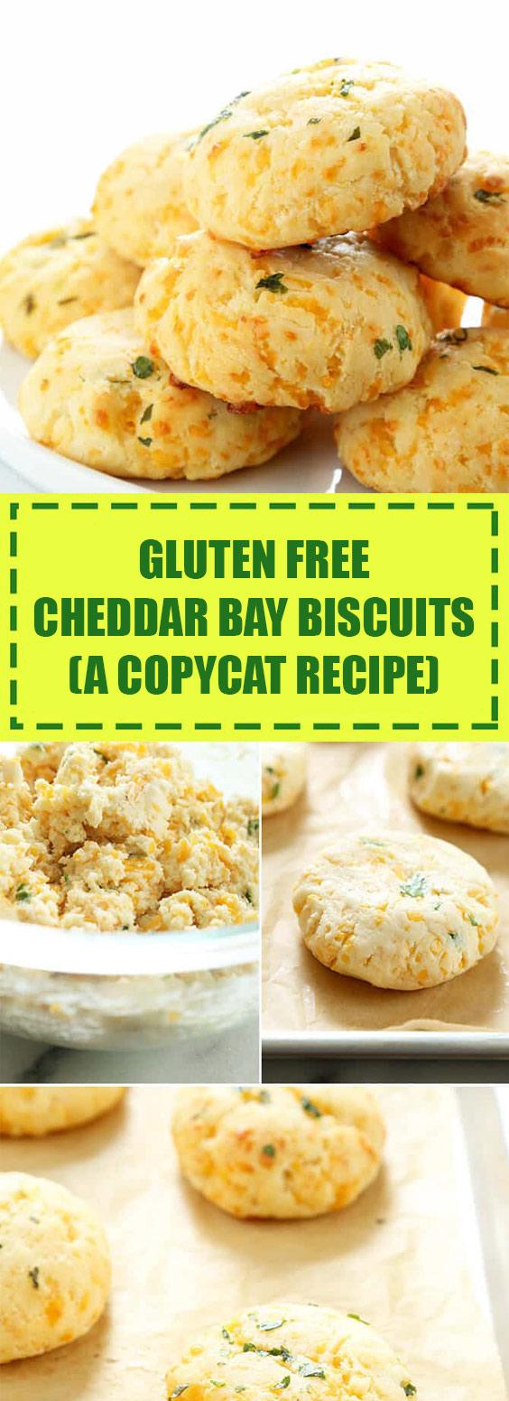 Gluten Free Cheddar Bay Biscuits (a copycat recipe)