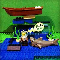 Lego haai Freek