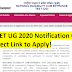NEET UG 2020 Notification Out: Direct Link to Apply!