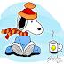 Τι χρειάζεται όταν κάνει κρύο ο Snoopy;....