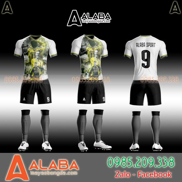 Áo CLB Dortmund 2019 tự thiết kế mã ALB DO07