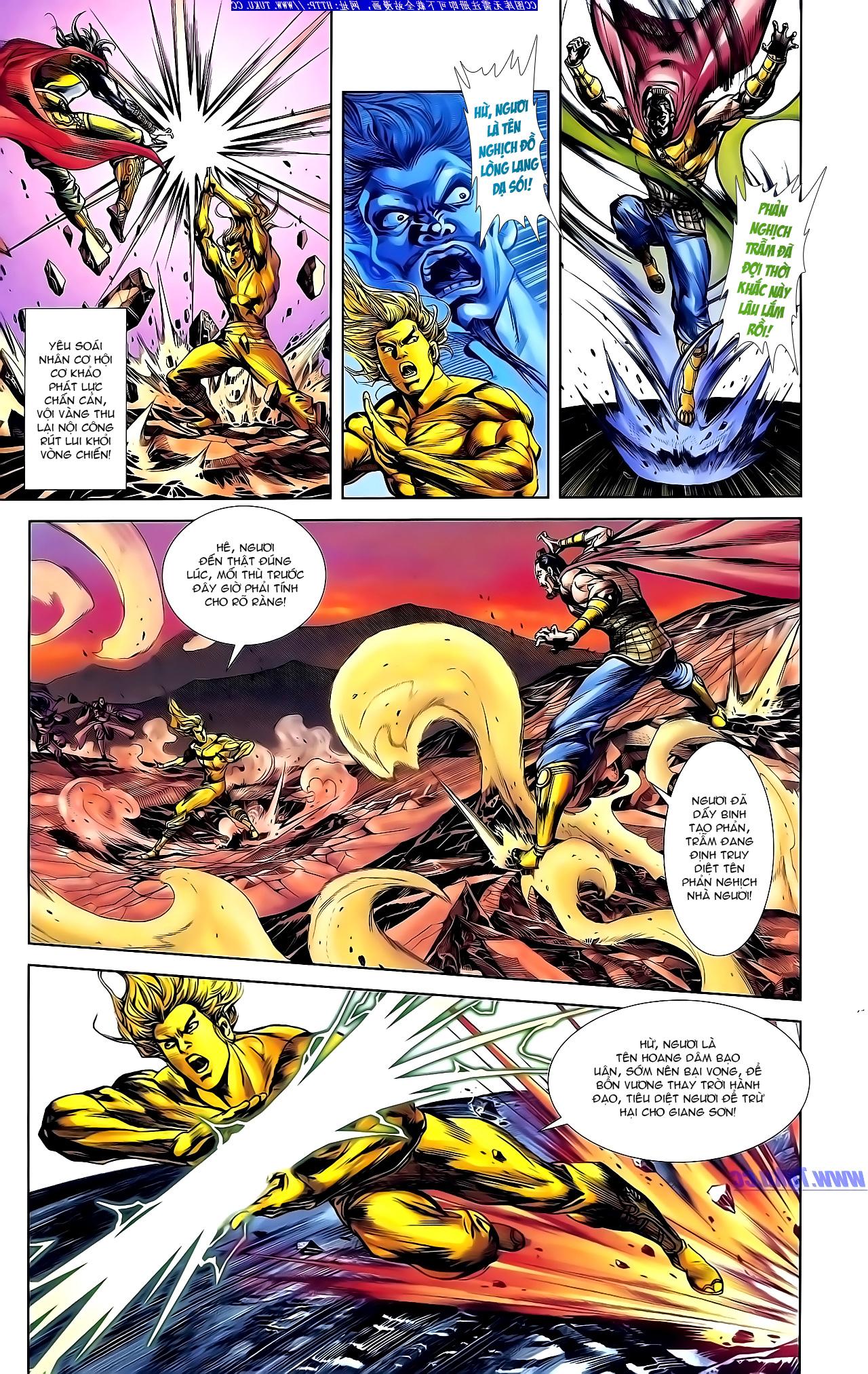 Cơ Phát Khai Chu Bản chapter 147 trang 5