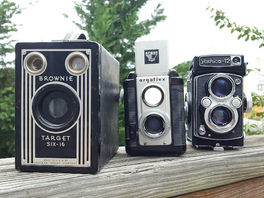 Box Camera Deluxe or TLR Lite - Part II - The Argoflex 40