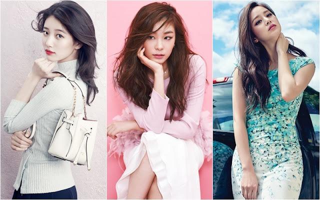 Foto Close-up Para Selebriti Wanita Korea Ini Bikin Kagum Netizen – Kpop Chart