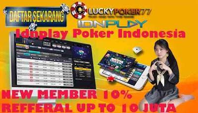 Idnplay Poker Indonesia Daftar Capsa Melalui Bank BTPN Terbaru 2020