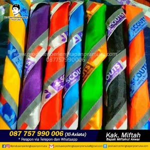 Jual Scarf Pramuka Mojokerto, Pasuruan, Pekalongan WA 0877-5799-0006