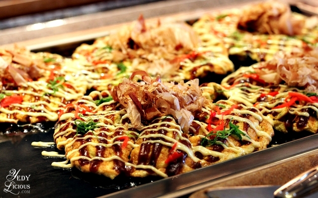 Okonomiyaki at Nobu Hotel Brunch Buffet City of Dreams Manila