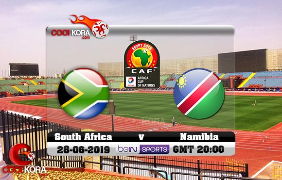 مشاهدة مباراة جنوب أفريقيا وناميبيا اليوم 28-6-2019 علي بي أن ماكس كأس الأمم الأفريقية 2019