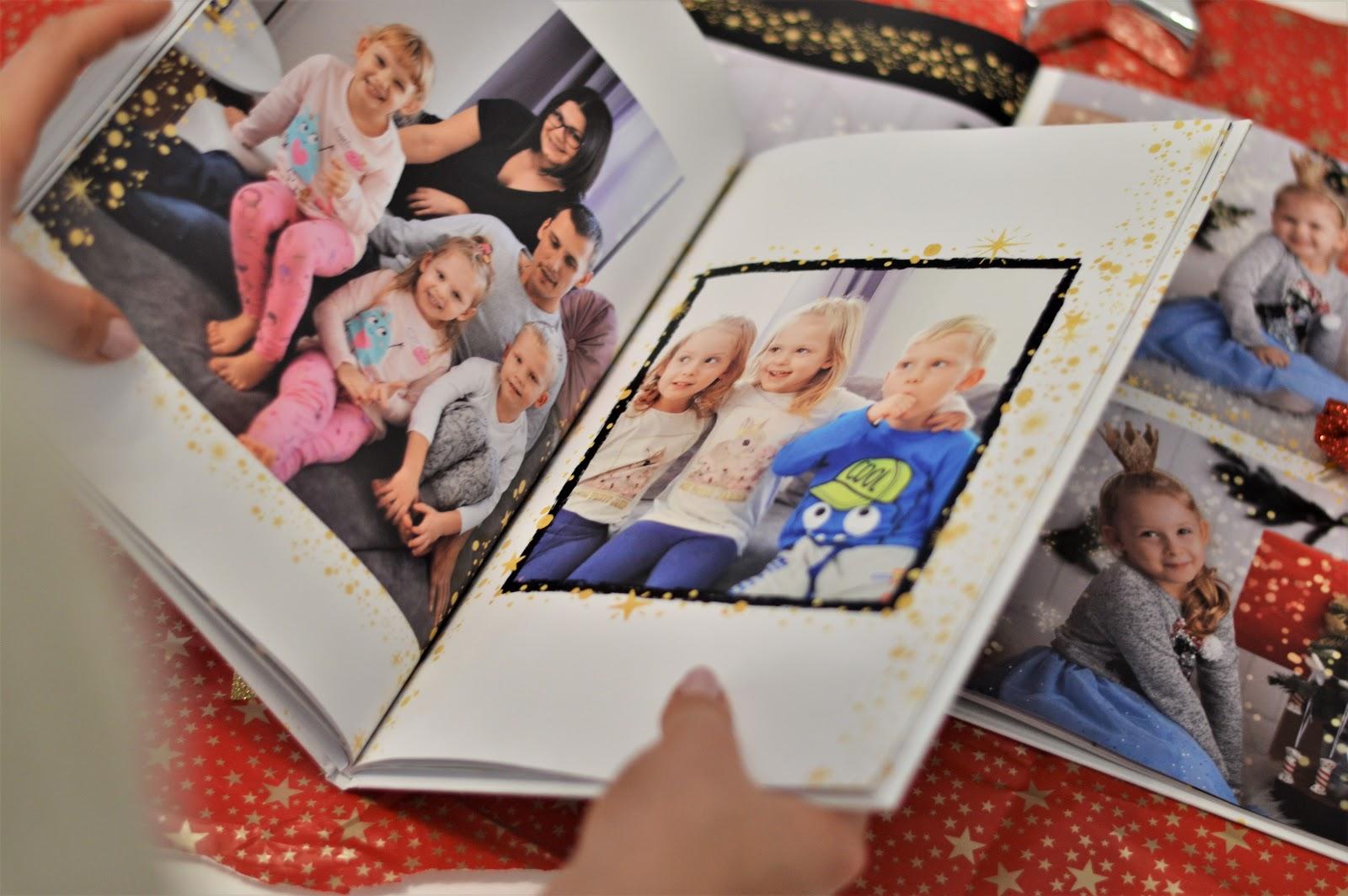 fotoksiążki ze zdjęciami dzieci