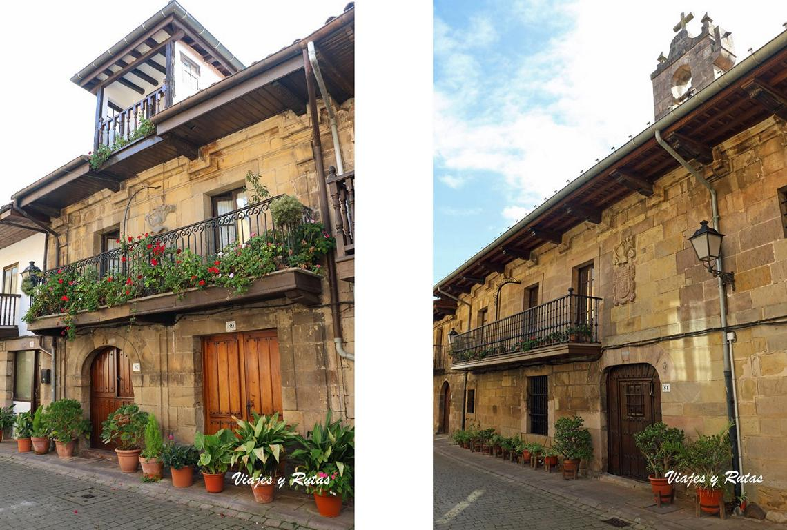 Casa de Doña Melchota Quijano y de la Puente, Cartes