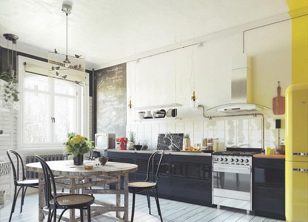 4 mẫu thiết kế nội thất nhà bếp không bao giờ bị lỗi thời