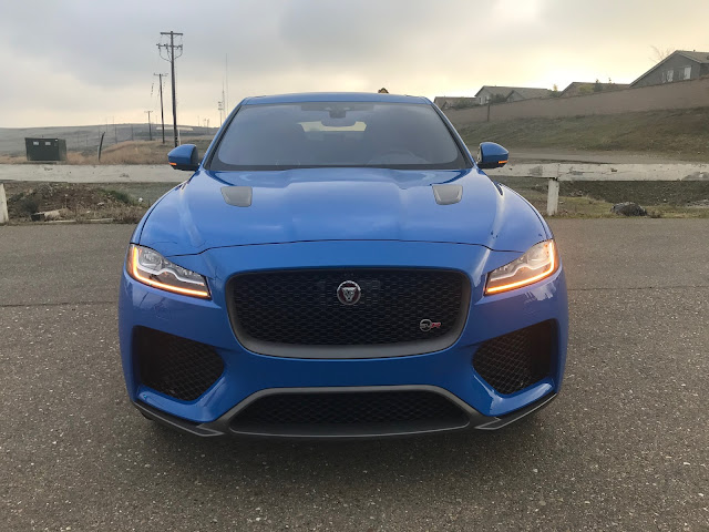 Front view of 2019 Jaguar F-Pace SVR