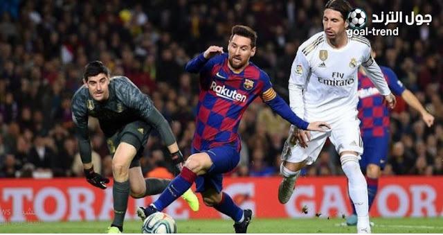 """موعد مباراة برشلونة وريال مدريد """"الكلاسيكو"""" في الدوري الاسباني"""