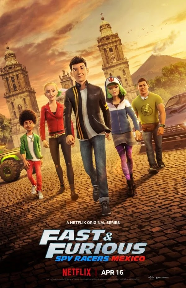 Fast & Furious Spy Racers Season 4: Mexico [Hindi DD5.1-English 5.1] Dual Audio WEB-DL 720p & 1080p HD | 10bit HEVC ESub