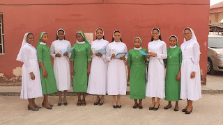 Profession of the Witnessing Sisters of the Holy Family