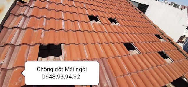 thợ chống dột mái ngói tphcm