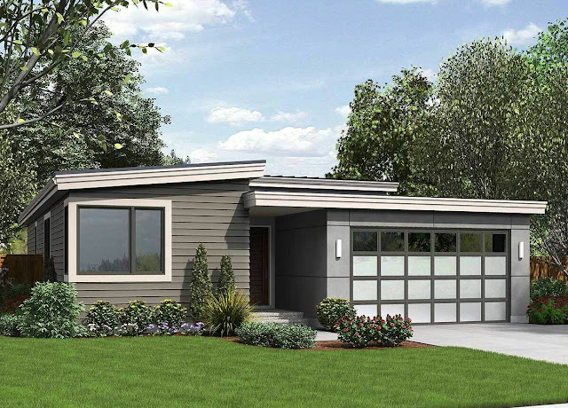 Contemporary House Plans Modern