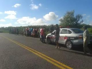 Grave acidente deixa dois mortos entre as cidades de Pirpirituba e Sertãozinho no Agreste paraibano