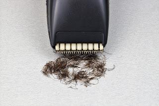 كيف حلق الشعر