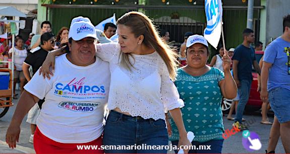 Seré la diputada del distrito 10 y vamos a recuperar el rumbo de Solidaridad: Lili Campos