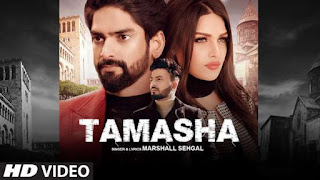 Tamasha Lyrics Marshall Sehgal | Himanshi Khurana