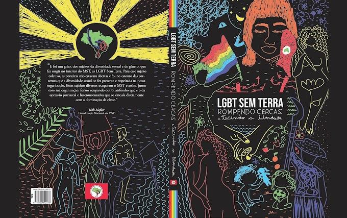 Livro conta como as bandeiras dos movimentos sem-terra e LBGT se uniram