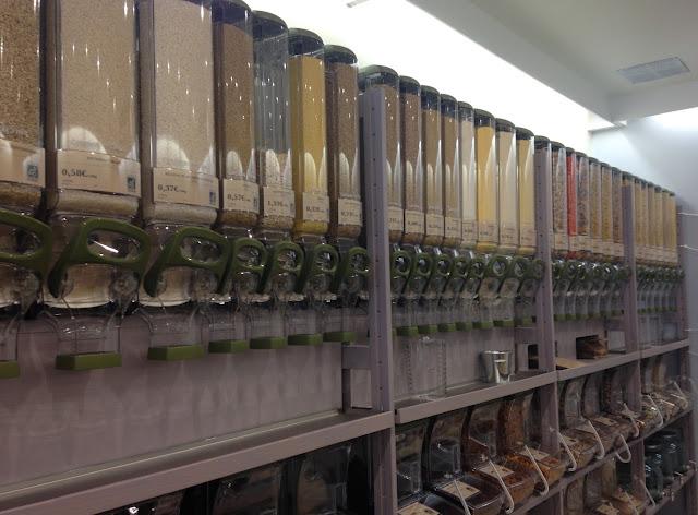 Besançon, bonnes adresses, épicerie le vrac, zéro déchet, zéro waste, sans emballage