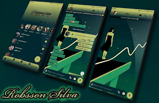 Girls Solitaria Theme For YOWhatsApp & NS WhatsApp By Robson