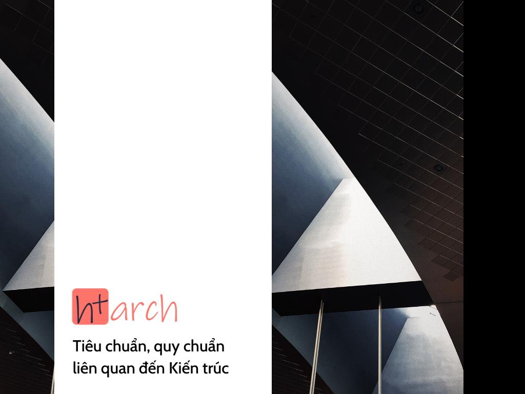 tiêu chuẩn kiến trúc tài liệu