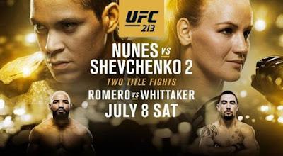 UFC 213 Romero vs Whittaker 2017 PPV HDTV 480p 800Mb