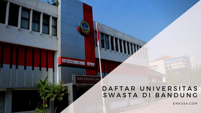 Daftar Universitas Swasta di Bandung