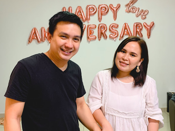 Our first wedding anniversary