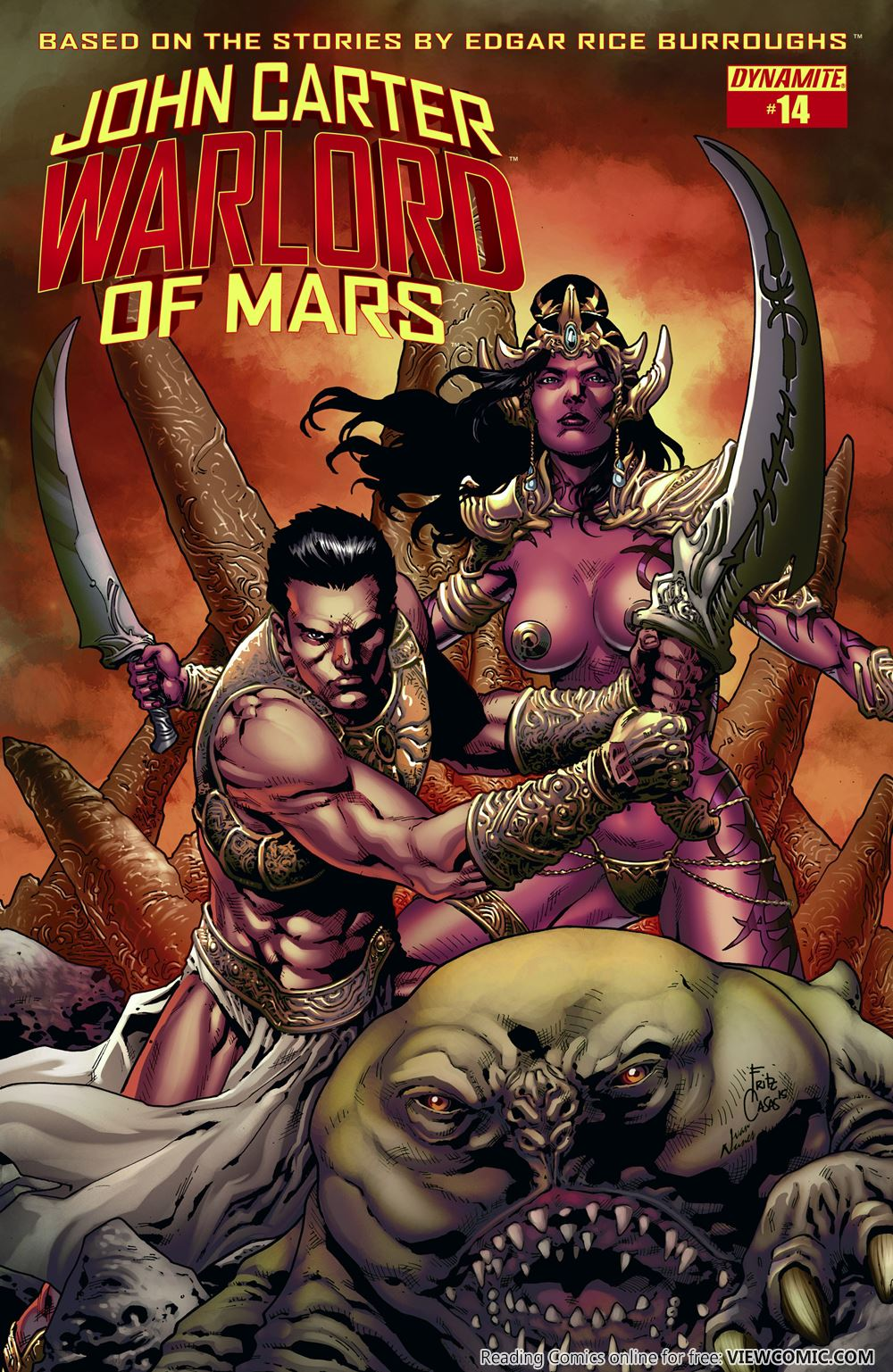 John Carter Warlord Of Mars | Viewcomic reading comics online for