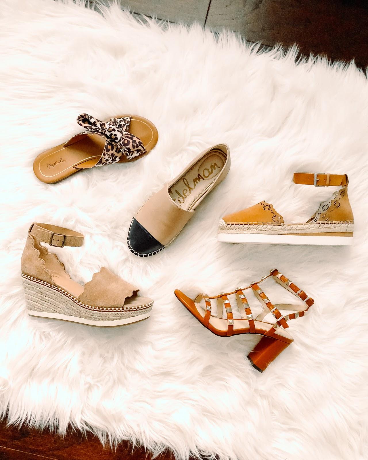 espadrilles, sam edelman, rockstud heels, leopard sandals