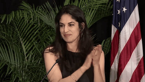 Honteux : une organisation juive US pardonne la collaboratrice de Biden pro-kamikazes palestiniens