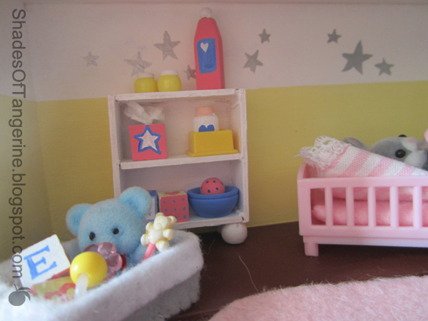 Baby Bedroom In A Box Special: Shades Of Tangerine: Calico Critter Box Room