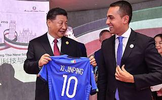 Xi Jinping e Luigi Di Maio