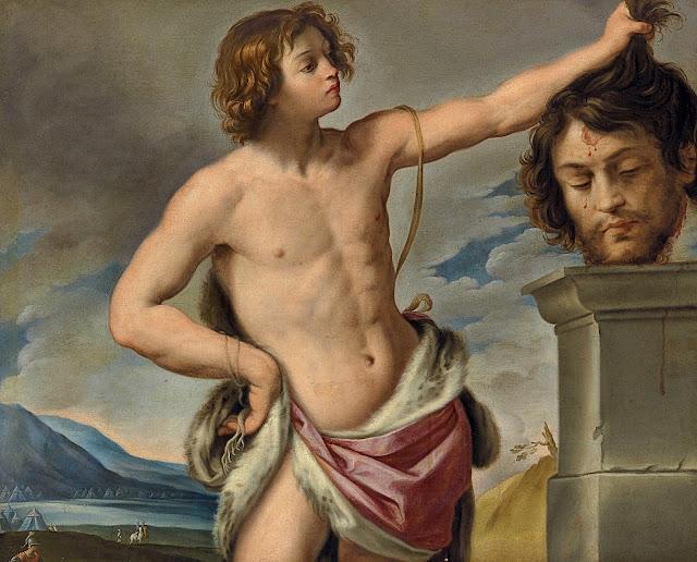 Giovanni Andrea Sirani: Davide con la testa di Golia