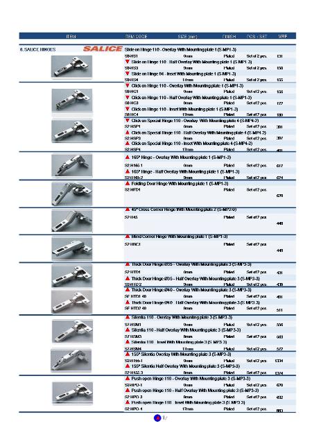 Sleek Kitchen Price List Pdf