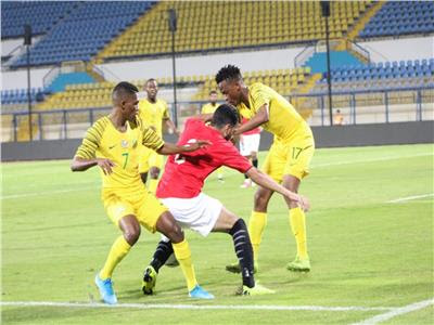 مباراة مصر وجنوب افريقيا الاولمبي لقاء ودي
