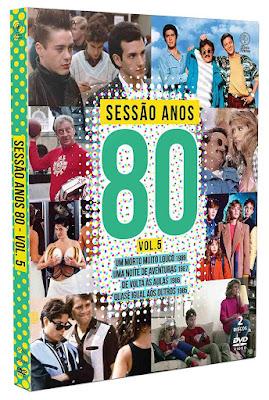 DVD Sessão Anos 80 Volume 5