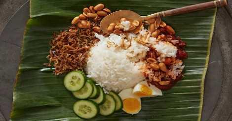 Nasi Lemak dari Malaysia