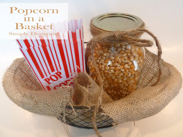 popcorn basket 01a Simple and Inexpensive Gifts Ideas {VIDEO} 39