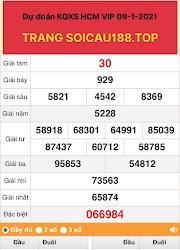 XS HCM VIP LOTO 09 - DÀN ĐỀ 6X CHUẨN HỒ CHÍ MINH - SOICAU188.TOP