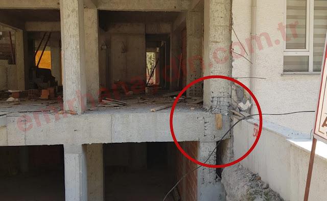 inşaatlarda yapılan trajik hatalar. inşaatlarda yapılan bu büyük hatalar yapı denetim firmalarının ve şantiye şeflerinin ihmallerinden kaynaklanıyor.