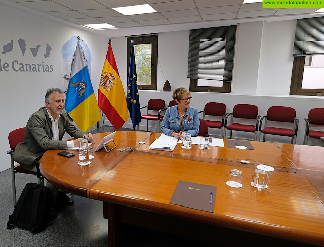 Ángel Víctor Torres preside una nueva reunión del Comité de Gestión Económica por el coronavirus